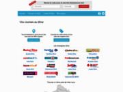 screenshot http://guide-drives.fr Le guide des courses au drive