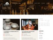 screenshot http://www.guide-restaurant-halal.com guide de restaurant halal, horaires de prières
