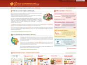 screenshot http://www.guide-supermarches.com guide supermarchés en ligne