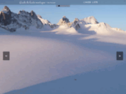 screenshot http://www.guide2hautemontagne.com eric fossard, guide de haute montagne