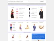 screenshot http://www.guidedestailles.com/ guidedestailles.com : le guide des tailles