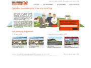 screenshot http://www.guisset-conseil.fr/ opérateur immobilier