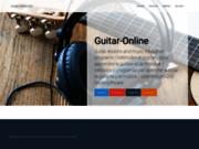 Guitare-Online : Apprenez la musique à votre rythme