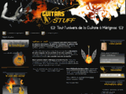 screenshot http://www.guitare-bordeaux.com guitars n' stuff - vente de guitares bordeaux mérignac - magasin guitares