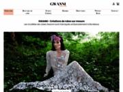 gwanni créatrice de robes de mariée modernes sur mesure