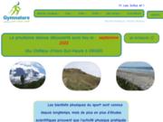 screenshot http://www.gymnature.be gymnature : marche nordique, fitness nature - apprentissage, cours et randonnées