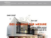 screenshot http://www.habitat-basse-energie.com Maison bois basse consommation