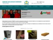 screenshot http://www.habitat-ecologique-normand.fr habitat ecologique normand