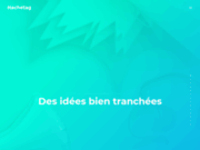 screenshot https://www.hachetag.co Hachetag - Agence de communication Reims