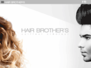 screenshot http://www.hairbrothers.fr hair brother's