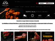 screenshot http://www.halbutche.fr Boucherie Halal en Ligne