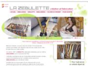 screenshot http://www.hamac-bebe-zebulette.com la zébulette: création de hamac bébé