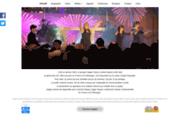 screenshot http://www.happyvoices.net gospel, site officiel du trio gospel féminin happy