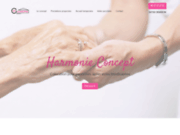 screenshot https://www.harmonie-concept.com colocation retraités