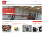 screenshot http://www.hatz-diesel.info hatz, fabricant de moteurs diesel depuis 1880