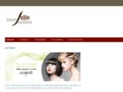 screenshot http://www.haute-coiffure-julie.com coiffeur à Bourges 18