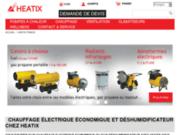 Fournisseur et Revendeur de chauffage electrique economique et deshumidificateur, Heatix