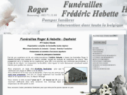 Pompes funèbres Hebette à Havelange pour toutes prestations funéraires