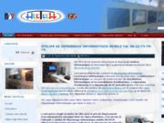 screenshot http://www.hectech.fr atelier de dépannage informatique mobile hectech