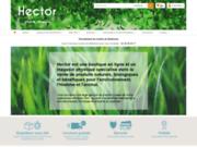 Hector, vente en ligne de produits naturels et biologiques : santé, bien-être, jardinage bio.