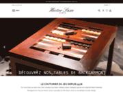 screenshot http://www.hectorsaxeparis.com backgammons de luxe