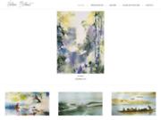 screenshot http://helene-bilhaut.fr/ Helene Bilhaut - Cours de peinture Paris - 17e / 16e