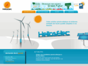 screenshot http://www.helioselec.be helioselec : solutions photovoltaïques  eoliennes