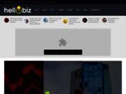 screenshot http://hellobiz.fr Idées de business