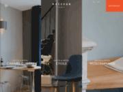 screenshot http://www.helzear.com helzear : location d'appartements meublés à paris