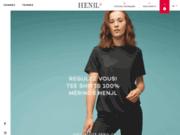 screenshot https://henjl.fr Henjl, créateur de pulls, vêtements de ski et montagne en laine mérinos.