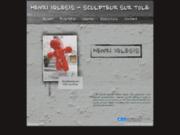 screenshot http://henri-iglesis.c.la henri iglesis - oeuvres en tôle soufflée