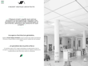 screenshot http://www.hestaux-architecture.com Cabinet d'Architecte