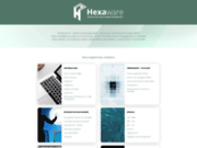 screenshot http://www.hexaware.net hexaware votre prestataire informatique en idf