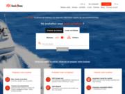 Plateforme de location de bateaux auprès de professionnels de la location