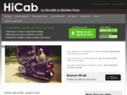 screenshot http://www.hi-cab.com Taxi Moto
