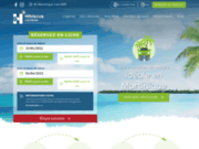 screenshot http://www.hibiscuslocation.com/ location voiture clim martinique