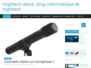 screenshot http://www.hightech-store.fr high store - les exclusivités du moment