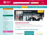 screenshot http://www.histoire-antique.fr/ magazine histoire