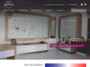 screenshot https://www.histoiresdelunettes.com/ opticien à Magnanac 31340
