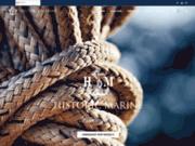 screenshot http://www.historic-marine.com fabrication de maquettes de bateaux anciens