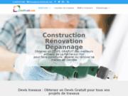 screenshot http://hlb-architecte.com Architecte Vendée
