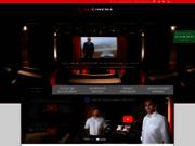 screenshot http://www.hocinema.com hocinema - fabricant traitement acoustique et concepteur salle de cinéma pour le particulier