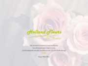 screenshot http://www.hollandfleurs.fr holland fleurs