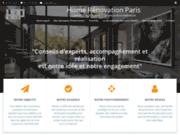 screenshot http://www.home-renovation-paris.fr rénovation clé en main et de recherche de biens sur paris et sa région