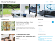 screenshot http://www.home-technology.fr home technology : solution domotique x10