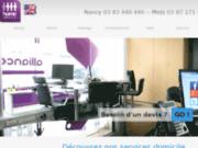 screenshot http://www.homealliance.fr home alliance - services à domicile