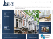 screenshot http://www.homedating.be chasseur immobilier a bruxelles