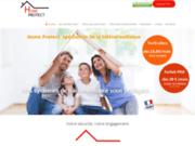 screenshot http://www.homeprotect.fr télésurveillance et alarme
