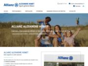 screenshot https://www.hometassurances.com/ assurances auto, habitation, santé à Vendôme 41100 et Contres 41700