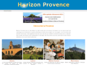 screenshot http://www.horizon-provence.com reportages et photos de provence